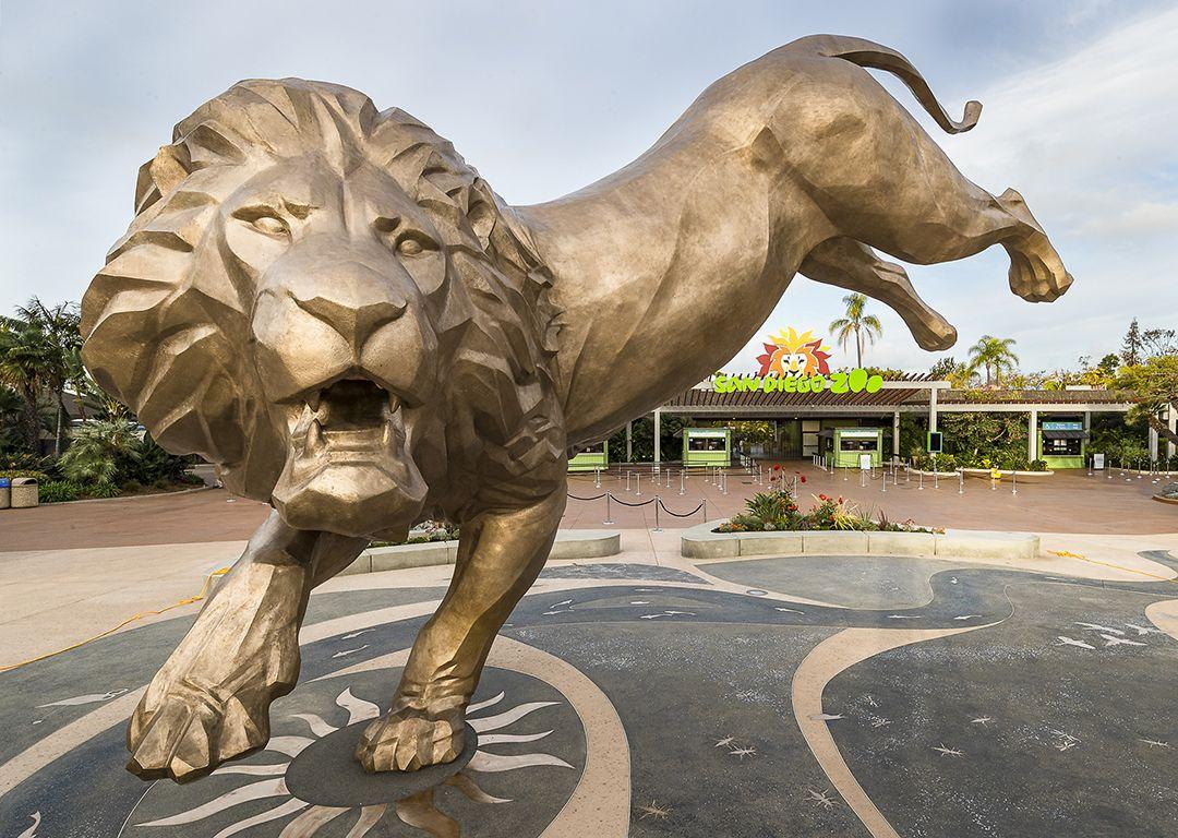 SD Zoo Statue